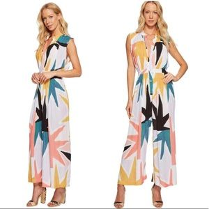 NWT Mara Hoffman Superstar Gathered Jumpsuit
